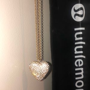 J. Crew Heart Necklace